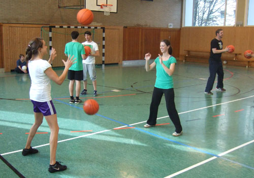 Ballkorobics Partnerübungen